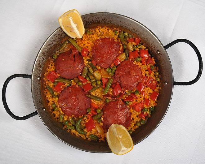Paella cu Chorizo_1